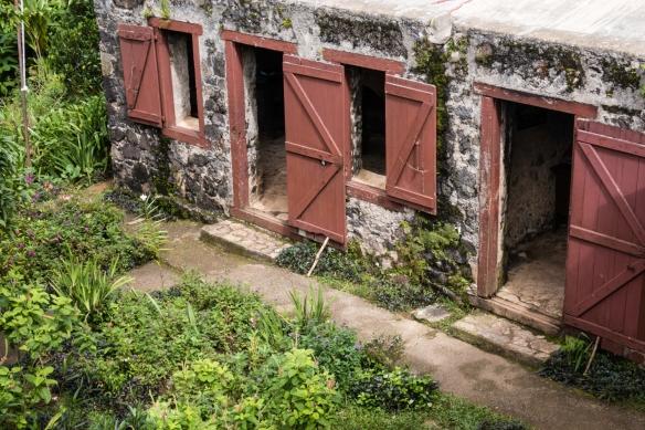 Only one slave quarters building remains at the coffee plantation, Gran Parque Nacional Sierra Maestra, Santiago de Cuba, Cuba