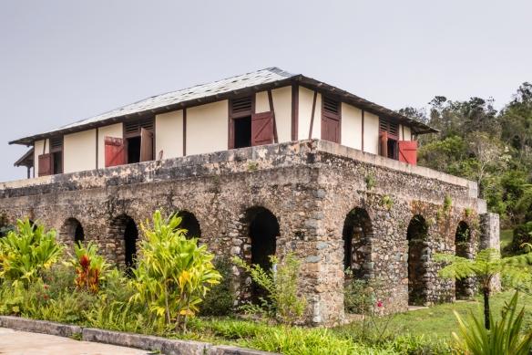The proprietor_s home at the oldest coffee plantation in the Gran Parque Nacional Sierra Maestra, Santiago de Cuba, Cuba