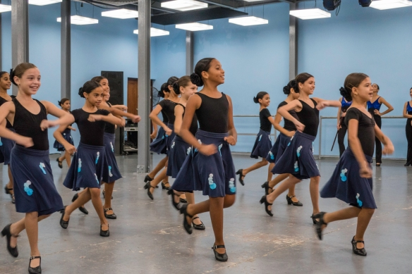 Young dancers in training gave us a performance at their studio at Lizt Alfonso Academy, Havana, Cuba