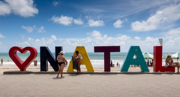 A major shipping port, known for its extensive coastal sand dunes, star-shaped Forte dos Reis Magos and the cultivation of cashews, Natal, Brazil, is located on the country_s northeast