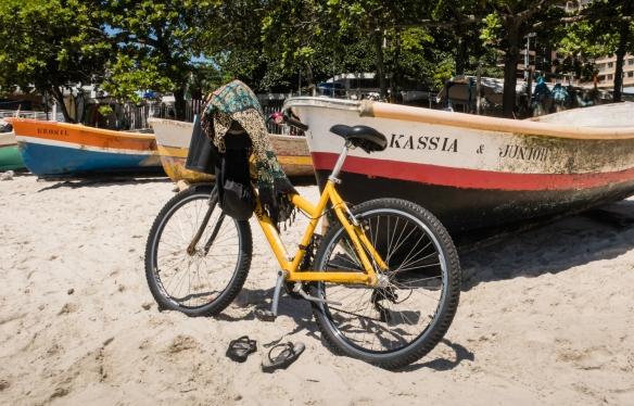 Local transportation, Copacabana (Beach), Rio de Janeiro, Brazil
