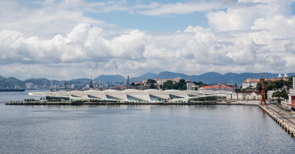 Museo do Amanhã (The Museum of Tomorrow) is a science museum in the city designed by Spanish neofuturistic architect Santiago Calatrava and built next to the waterfront at Pier Maua, R