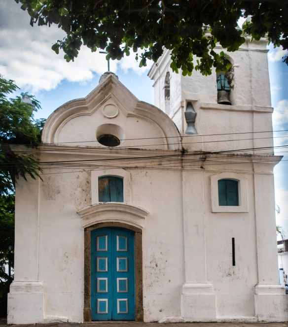 The old church (circa 1700) in Barrio Passagem, Cabo Frio, Brazil