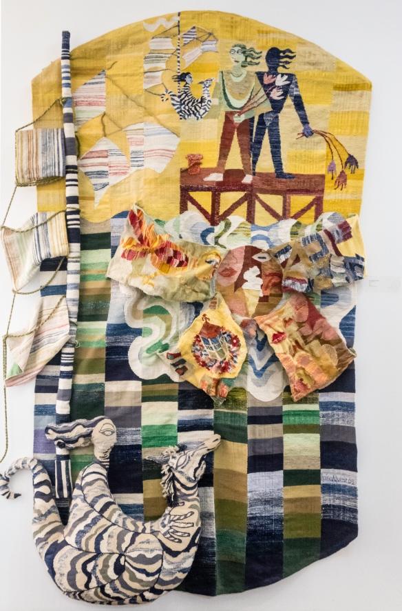 Centro Nacional de Artesanato e Design (National Artisan and Design Center); Mindelo, São Vicente, Cape Verde (Cabo Verde) – weaving #1