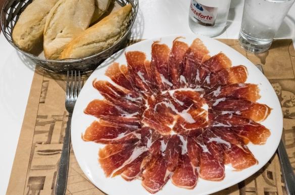 Iberico ham, Las 6 Calabazas (tapas), Las Palmas de Gran Canaria, Canary Islands