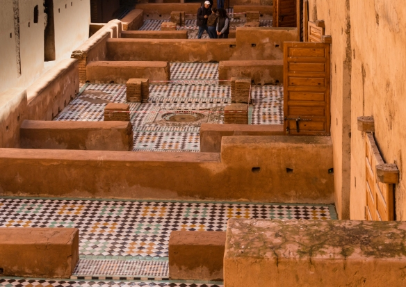 Palais Badii (El Badii Palace), Marrakech, Morocco, #6 – while all the marble and carved decorations of the palace were removed years later, these mosaic floors remain