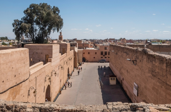Palais Badii (El Badii Palace), Marrakech, Morocco, #7 – a view of the city from the top of the palace