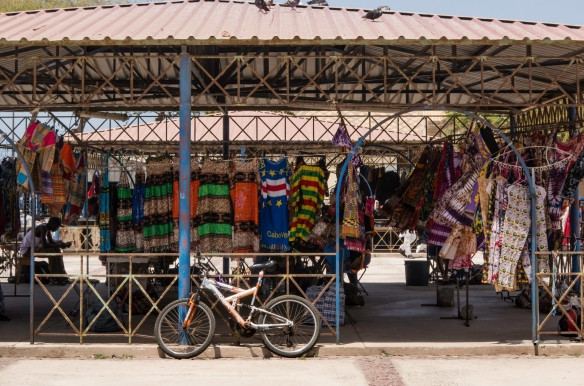 The African Market with local goods for sale, Mindelo, São Vicente, Cape Verde (Cabo Verde)