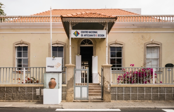 The Centro Nacional de Artesanato e Design (National Artisan and Design Center) has a collection of typical Cape Verdean art and crafts; Mindelo, São Vicente, Cape Verde (Cabo Verde)