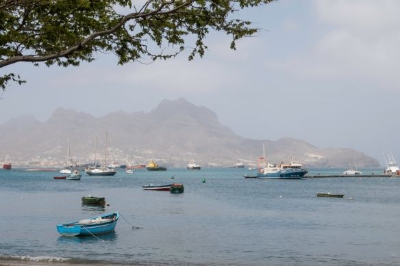 The harbor of Mindelo, São Vicente, Cape Verde (Cabo Verde)
