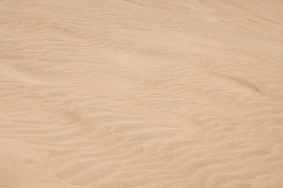 The strong winds continue to shape the sand dunes, São Vicente, Cape Verde (Cabo Verde)