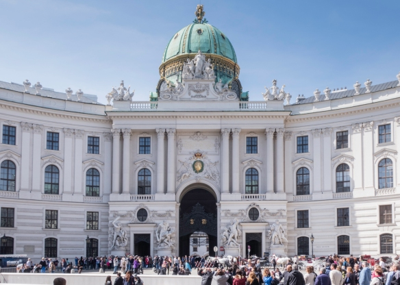 Hofburg Imperial Palace's Neue Burg section, St. Michael's Wing