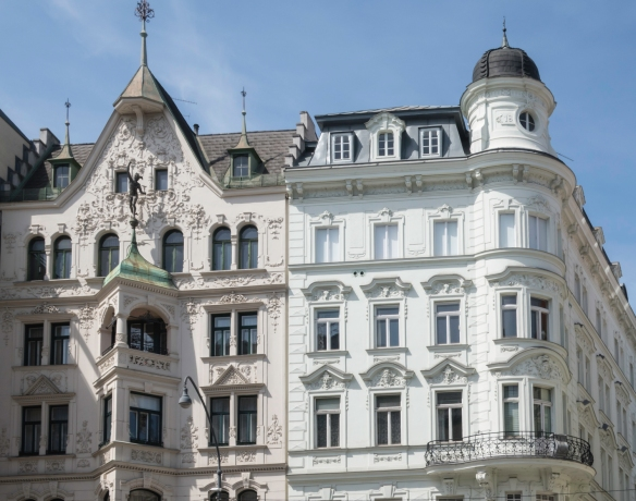 Representative architecture in the heart of Vienna, Austria