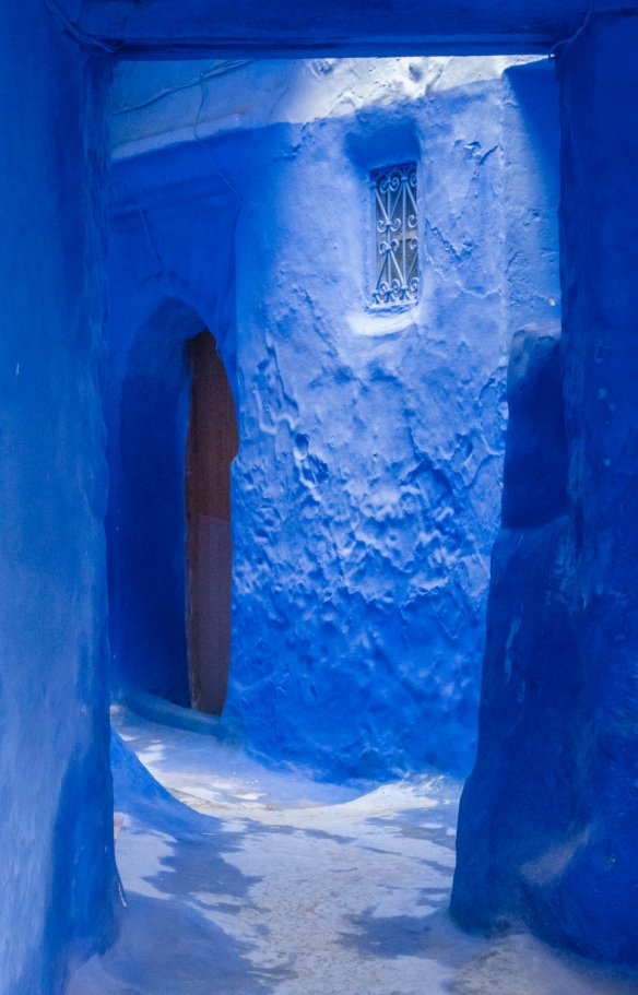 The Blue City of Chefchaouen, Morocco, #12 – El Mellah El-Jadid, the Jewish neighborhood that dates back to the 16th century when the Jews were welcomed to reside within the walls of t