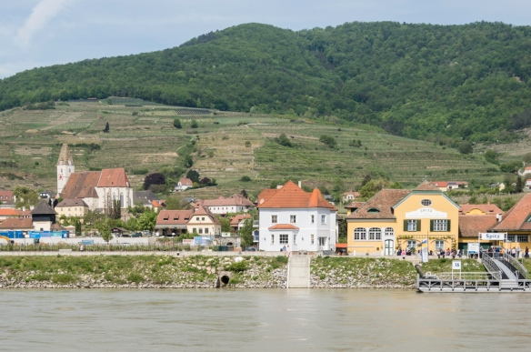 We ended our river cruise in the town of Spitz, Wachau wine-growing region, Austria