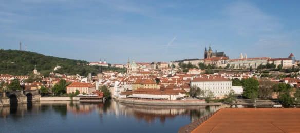 Prague, Czech Republic, with a population of about 1.2 million, is one of the largest cities of Central Europe and has served as the capital of the historic region of Bohemia for centuri
