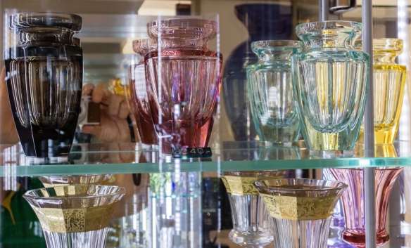 The art glass at Moser (in Prague, Czech Republic, since 1857) is regarded as some of the best in Poland and Europe; their main retail store is in the Old Town Square (Staroměstské n