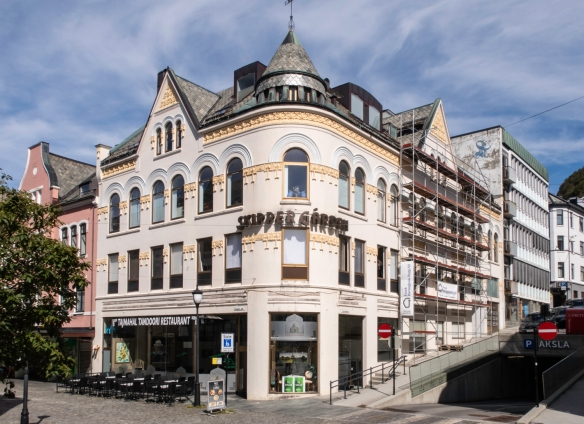A Jugendstil (Art Nouveau) building in Ålesund, Norway, circa 1904 - 1907, #5