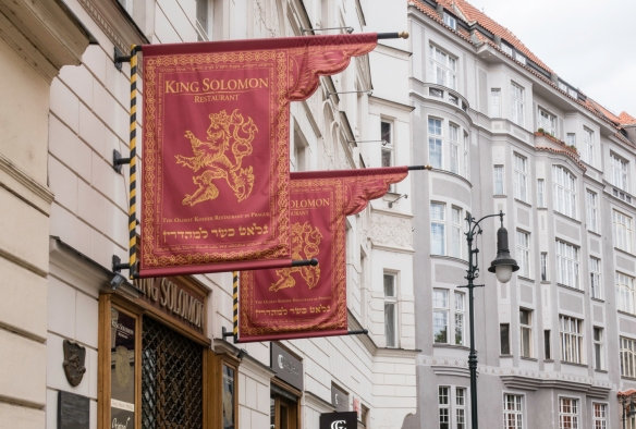 King Solomon Restaurant, located in the Jewish Quarter, is the oldest Kosher restaurant in Prague, Czech Republic