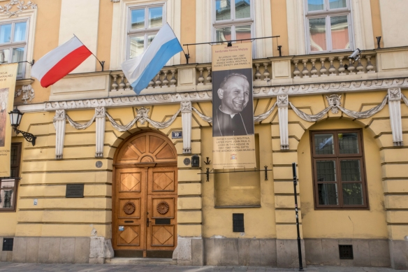 On Ul. Kanonicza, paved with cobblestones and one of Kraków_s oldest streets, at number 19 is the Archdiocesan Museum where Father (later, Cardinal) Karol Wojtyla lived on two separa