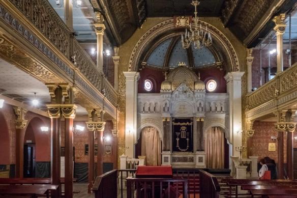 Temple Synagogue (Synagoga Tempel) is Kazimierz's newest synagogue, dating back to 1862, Kazimierz (Jewish District), Kraków, Poland