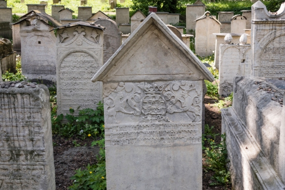 Until 1800 the Old Jewish Cemetery (to which Remuh Synagogue is adjacent) fell into utter ruin during German Nazi occupation with only a dozen tombstones surviving WWII in their original