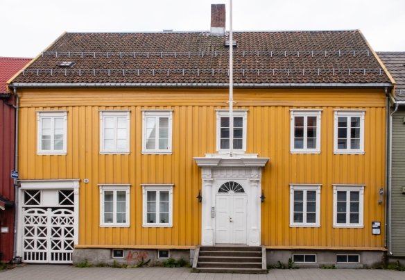 A traditional Norwegian-design home in central Tromsø, Norway