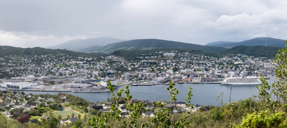 Harstad, Norway is a picturesque Norwegian city with an artistic vibe, situated on the island of Hinnøya, southwest of Tromsø that serves as the jumping off point for exploration of th