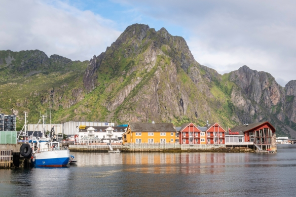 The small town of Svolvaer, Norway, was our first stop in the Lofoten Islands – it's a great locale for outdoor activities (we did a long hike) and has an outstanding World War II muse