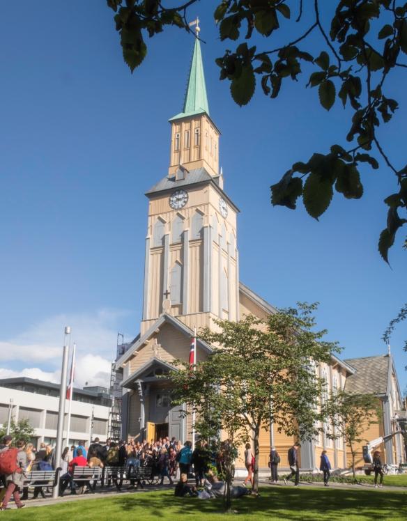 Tromsø Domkirke (Tromsø Cathedral), Tromsø. Norway