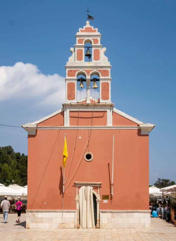 Agioi Apostoli (Holy Apostles) church is said to have been built on the location of the tomb of Agios Gaïos who was responsible for bringing Christianity to the island; the church —