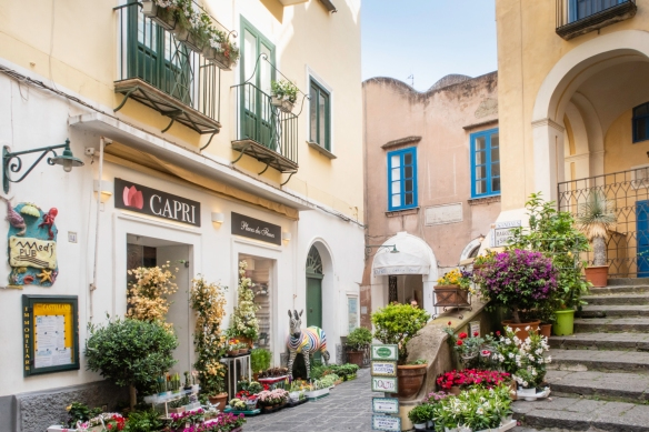 Capri (Island), Italy, #4 – a shopper_s paradise in the town on top of the hill (island)