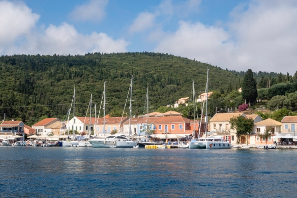 Fiskardo, located on Kefalonia Island, Greece, epitomizes the postcard-worthy beauty and tranquility of the Greek islands