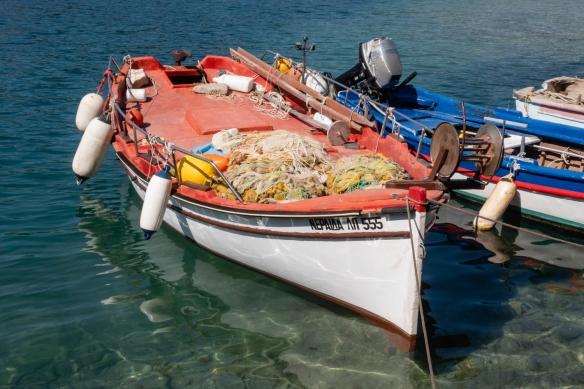 Local fishing boats, Gaïos, Paxos Island, Greece