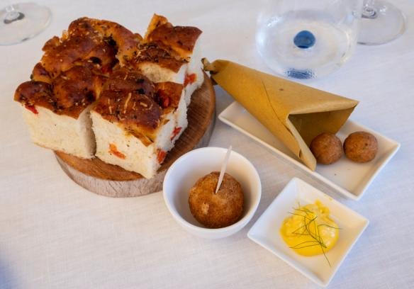 Luncheon at Acqua Pazza, Ponza, Italy #1