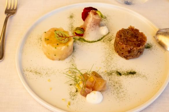 Luncheon at Acqua Pazza, Ponza, Italy #2