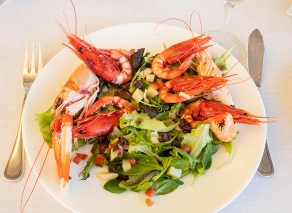 Luncheon at Acqua Pazza, Ponza, Italy #8