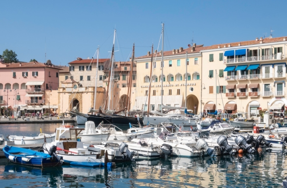 Portoferraio is the main town on the island of Elba, part of the Italian province of Livorno, and is best known as the residence of the French conqueror, Napoleon Bonaparte, while in exi