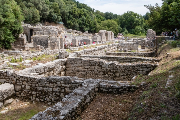 Roman baths (thermae) of the 2nd century A.D., Butrint National Park, Sarandë, Albania