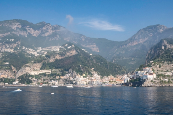 The allure of the Amalfi Coast_s natural beauty has been drawing people to the region long before it had a name -- today the mountains and sea cliffs are dotted with pastel confections