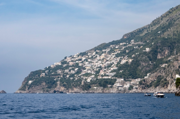 """The Amalfi Coast, Italy, #1 – """"the mountains and sea cliffs are dotted with pastel confections of holiday homes and sumptuous villas, which have elevated the coastline to one of the"""