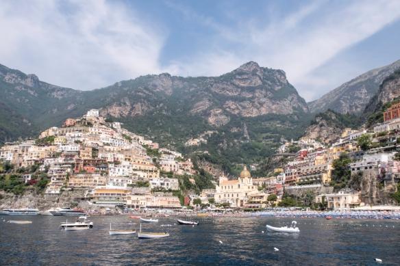 The Amalfi Coast, Italy, #4 -- the town of Positano
