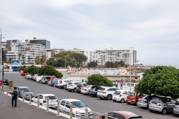 A very large public swimming pool along Victoria Road in Sea Point, Cape Town, South Africa