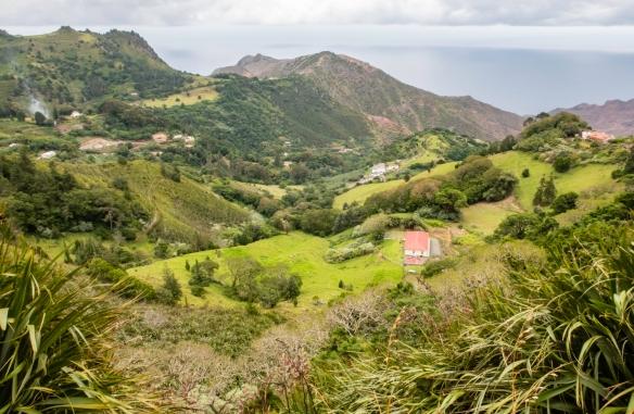 Farms and homes on the ridges on Saint Helena Island