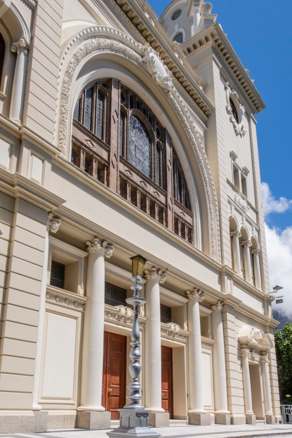 Great Synagogue in Cape Town, South Africa, is the oldest Jewish congregation in South Africa, established in 1841; the Baroque-style building was opened in 1905 by the President of the
