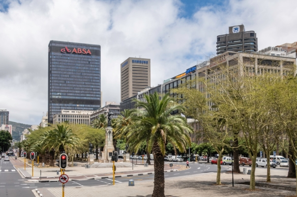 Modern, high-rise office buildings have raised the skyline of Cape Town, South Africa, over the past 20-plus years