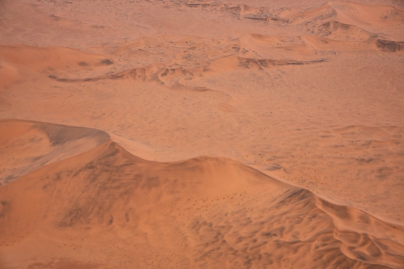 Red sand dunes in the Namib Desert, Namibia, #3 (closer to Sossusvlei)