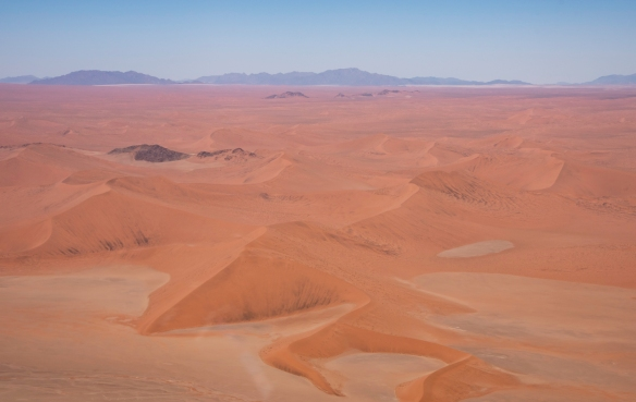 Red sand dunes in the Namib Desert, Namibia, #4 (closer to Sossusvlei)