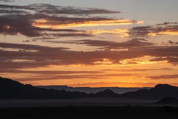 Sand Dunes at Sunrise, Sossusvlei, Namibia, #1 – sunrise was around 6.10 a.m