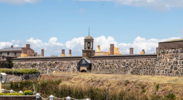 The Castle of Good Hope is a bastion fort built by the British Dutch East India Company between 1666 and 1679 in Cape Town, South Africa; it is a prime example of a star fort